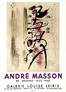 Afficvhes André masson