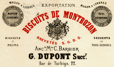 Biscuits de Montbozon