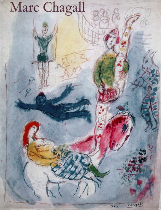 Marc-Chagall-Catalogue-Offset-Watercolors, gouaches, drawings-Pierre Matisse Gallery, New York-1969