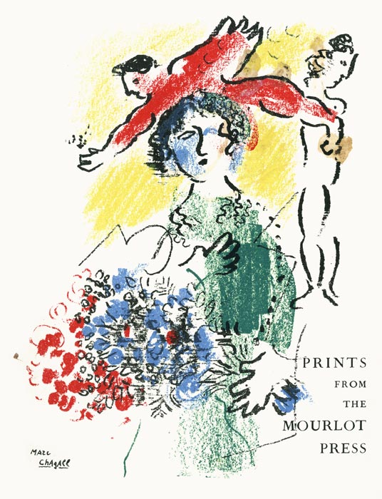 Marc-Chagall-Catalogue-Lithographie-Prints from the Mourlot Press-Smithsonian Institution-1964-1965