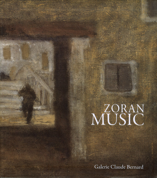 Zoran-Music-Catalogue-Offset-Zoran Music-Galerie Claude Bernard, Paris-2010